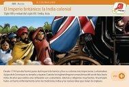 El Imperio británico: la India colonial - Manosanta