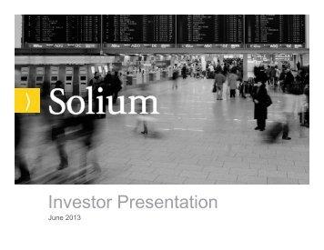 Investor Presentation - TMXmoney