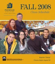 FALL CLA SSES - Maricopa Community Colleges