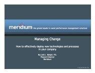 Managing Change Managing Change - FAMOS
