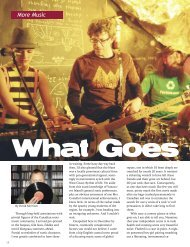 More Living magazine, Nanaimo, BC (July/August - David Morrison ...