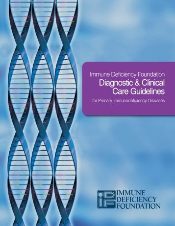 Diagnostic and Clinical Care Guidelines for Primary