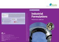 Industrial Formulations - Rhodia