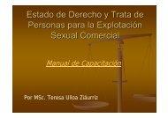 Manual de Capacitación I Presentación - Coalición Contra El Tráfico ...