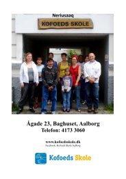 Kofoeds Skole Aalborgs infoark - Socialt udsatte grønlændere