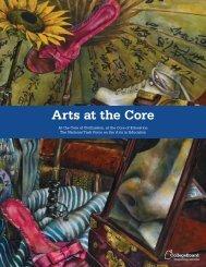 Arts at the Core Brochure - College Board Advocacy & Policy Center