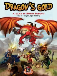 1 A game by Bruno Faidutti - White Goblin Games