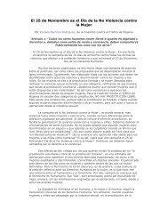 Día de la No Violencia contra la Mujer - Coalición Contra El Tráfico ...