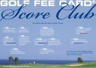 Score Club Flyer - Kreditkarte.at