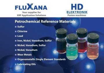 Petrochemical Reference Materials
