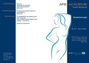 AFS AKADEMIE - AFS Medical