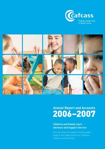 Annual Report 2006-2007 - Cafcass