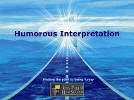 Humor - John Paul II HS