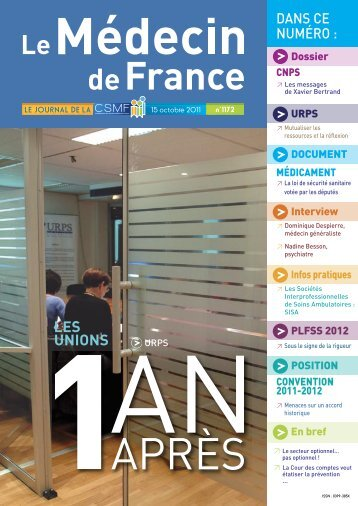 Médecin de France n°1172 - CSMF