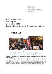 Yes we can - Universität Tübingen