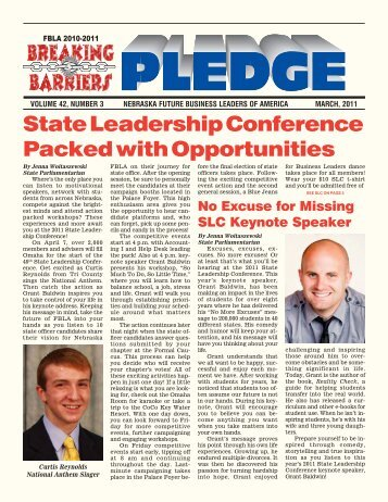 State Leadership Conference Packed with ... - Nebraska FBLA