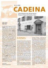 Cadeina - Museum Regiunal Surselva Ilanz