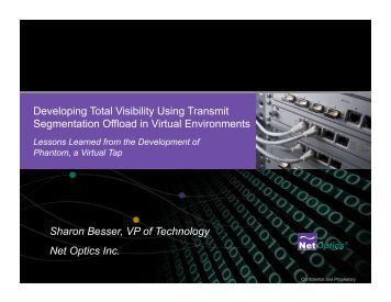 Developing Total Visibility Using Transmit Segmentation Offload in ...