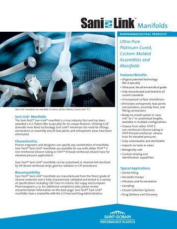 Sani-Tech Sani-Links - Saint-Gobain Performance Plastics ...