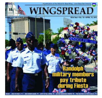 RANDOLPH AIR FORCE BASE 65th Year • No - San Antonio News