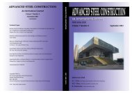 Volume 7, No. 3 (July 2011) - The Hong Kong Institute of Steel ...