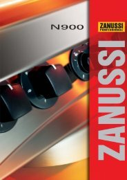NordCook - Zanussi thermische Geräte | Serie N900 - NordCap