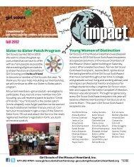 impact - Girl Scouts of the Missouri Heartland