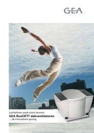 Commerciële brochure RoofJETT - GEA Happel Belgium