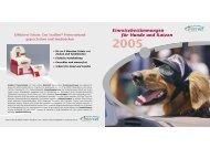 Einreisebestimmungen (PDF) - ZooNetz GmbH