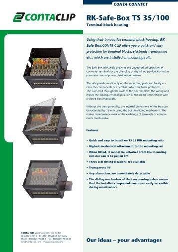 RK-Safe-Box TS 35/100 - CONTA-CLIP