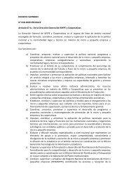 DECRETO SUPREMO N° 018-2009-PRODUCE ... - CRECEmype