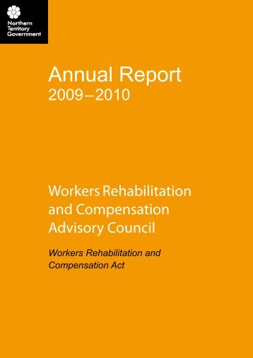 Workers Rehabilitation and Compensation Advisory ... - NT WorkSafe