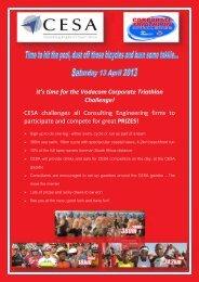It's time for the Vodacom Corporate Triathlon Challenge! CESA ...