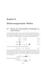 Kapitel 6 Elektromagnetische Wellen