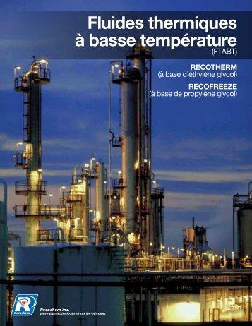 Brochure de FTABT - Recochem Inc.
