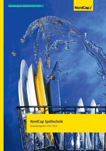 NordCap Spültechnik - Gesamtprogramm 2012/ 13 - Profitechnik für ...