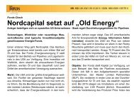 Old Energy - Nordcapital