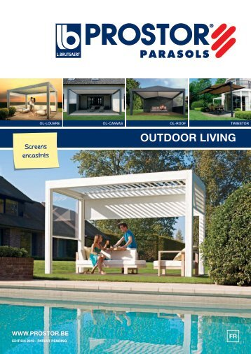 Ici vous trouvez plus d'information sur le Outdoor Living. - Prostor