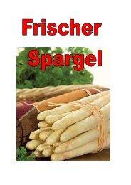 Spargel 2013 - Zur Waldesruh