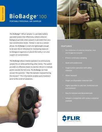 BioBadge® 100 - FLIR.com