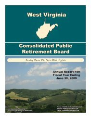 Sketch for Annual Report 2009.indd - West Virginia Consolidated ...