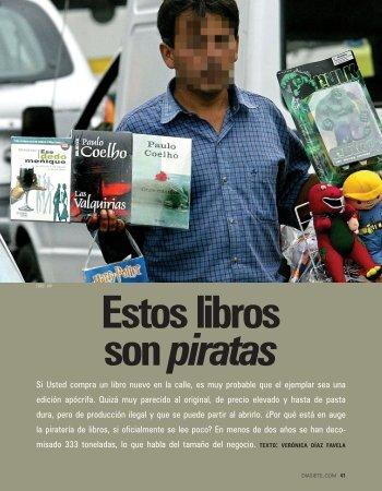 Si Usted compra un libro nuevo en la calle, es muy ... - diasiete.com
