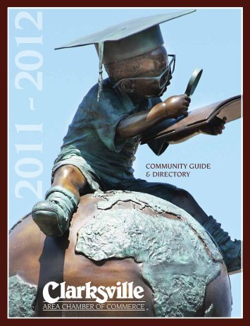 Community Guide and Directory - Clarksville Area Chamber of ...