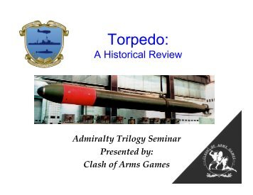 Torpedo Brief - Clash of Arms