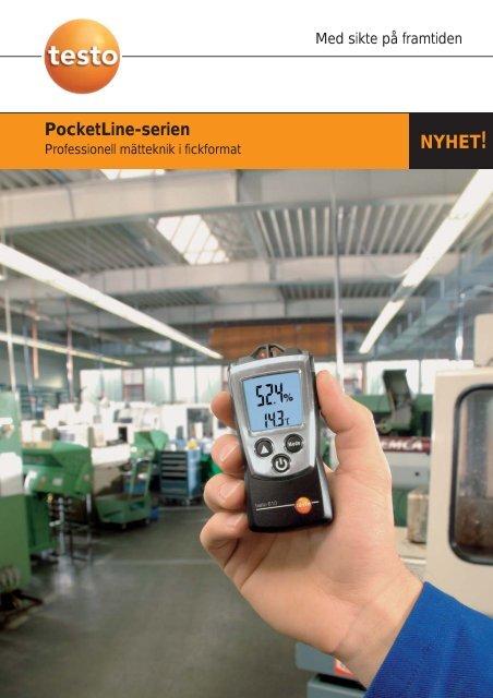 testo 606-2 - Nordtec Instrument AB