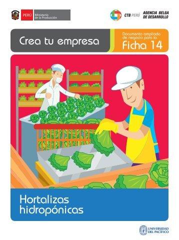 Ficha 14 Hortalizas hidropónicas - CRECEmype