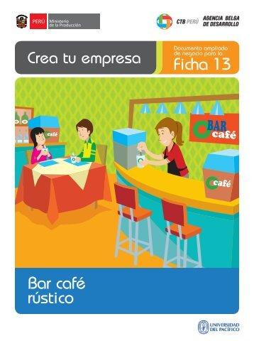 Bar café rústico Ficha 13 - CRECEmype