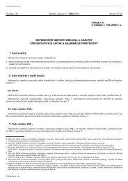 referenčné metódy merania a analýzy znečisťujúcich látok a ...