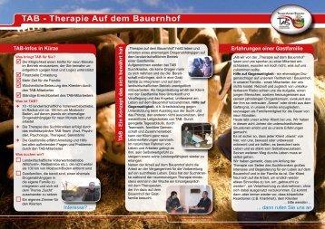 TAB - Therapie Auf dem Bauernhof - Baden-Württembergischer ...