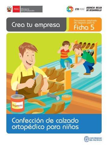Ficha 5 Confección de calzado ortopédico para niños - CRECEmype